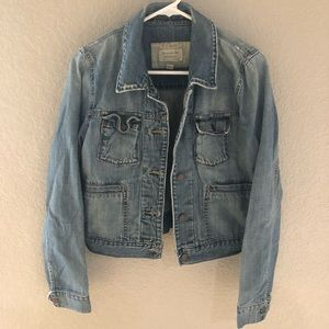 Abrocrombie and Fitch jean jacket